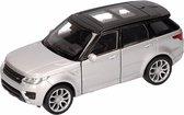 Speelgoed zilveren Range Rover Sport auto 1:36 - modelauto / auto schaalmodel