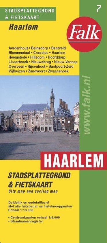Boek cover Haarlem plattegrond van Falk (Paperback)