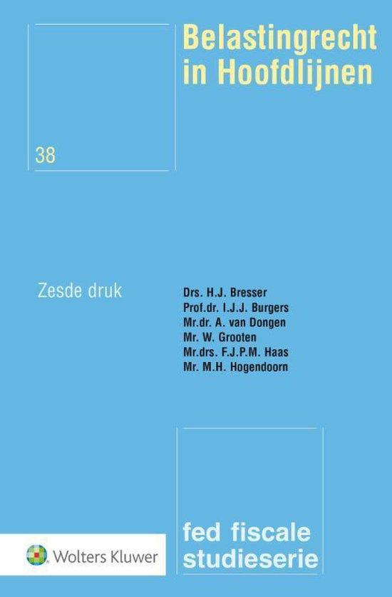 Boek cover Belastingrecht in hoofdlijnen van H.J. Bresser (Paperback)