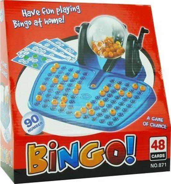 Afbeelding van het spel Bingo spel Plastic Met 90 Nummers en 48 kaarten.