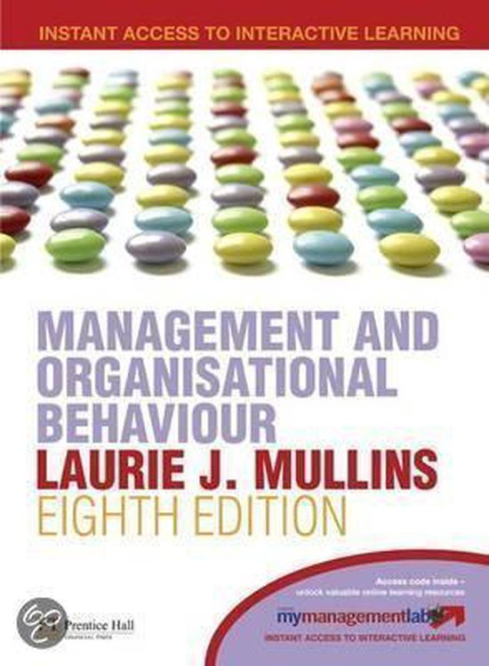 Boek cover Management & Organisational Behaviour van Laurie J. Mullins (Onbekend)