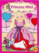 Kleurboek met Cijfer Princess Mimi Top Model