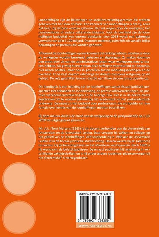 Ars Aequi Handboeken  -   Het beginsel van de minste pijn - A.L. Mertens