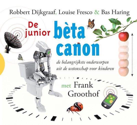 Boek cover LuisterWijs junior - De junior beta canon van Robbert Dijkgraaf (Onbekend)