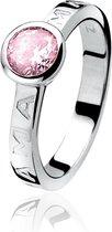 ZINZI zilveren mama ring roze ZIR849R