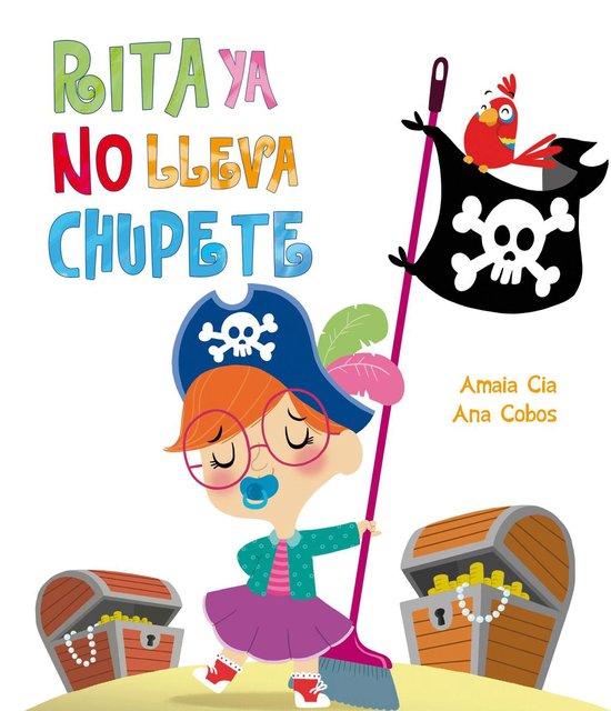 Boek cover Rita ya no lleva chupete (Rita) van Amaia Cia (Onbekend)