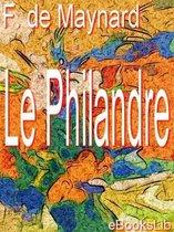 Omslag Le Philandre