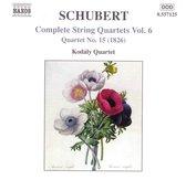 Schubert:String Quartets Vol.6