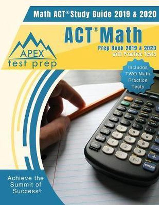 ACT Math Prep Book 2019 & 2020