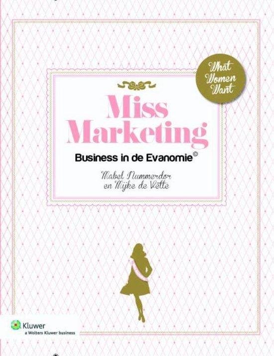 Miss marketing - Mabel Nummerdor pdf epub