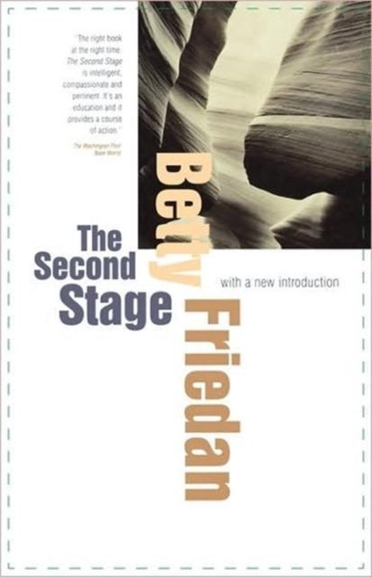 Boek cover The Second Stage van Betty Friedan (Paperback)