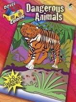 3-D Coloring Book - Dangerous Animals