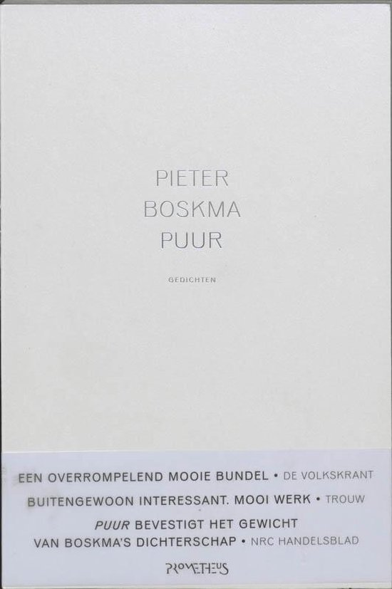 Boskma, Pieter. Puur gedichten - P. Boskma |