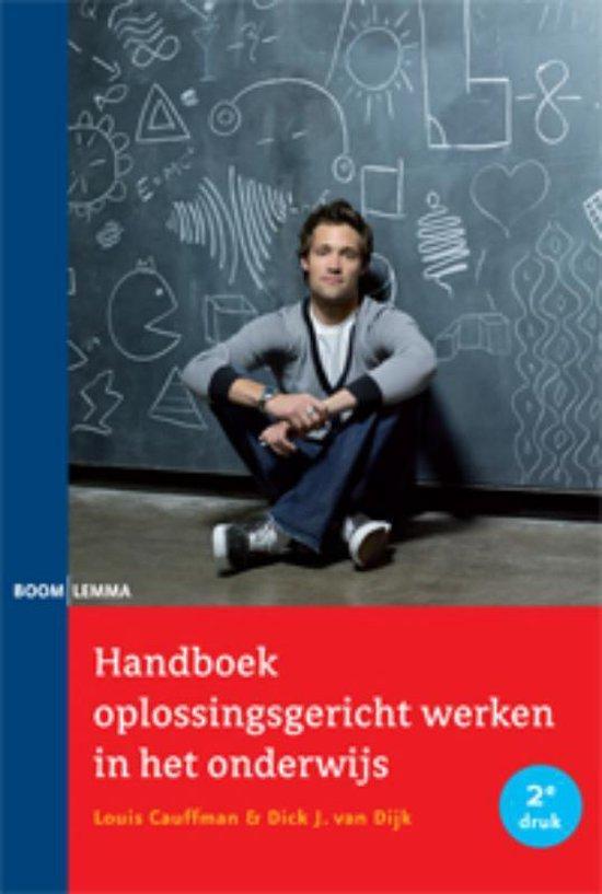 Handboek oplossingsgericht werken in het onderwijs - Louis Caufmann | Fthsonline.com