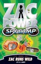 Zac Power Spy Camp: Zac Runs Wild