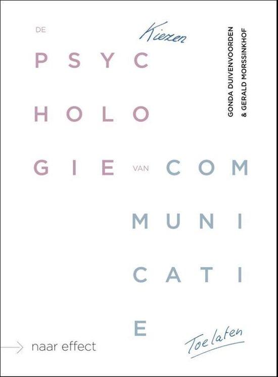 De psychologie van communicatie - Gonda Duivenvoorden |