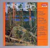 Sibelius: Piano Quintet, String Quartet / Gabrieli Quartet