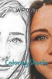 Woman Coloring Sheets