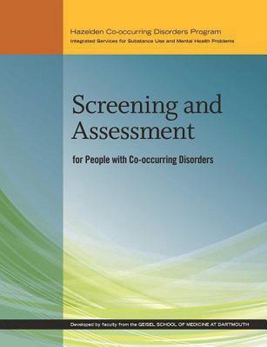 Afbeelding van Screening and Assessment for People with Co-occurring Disorders