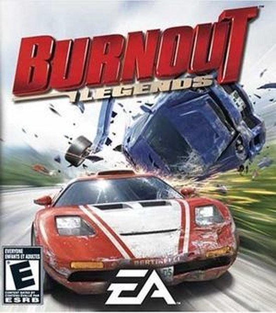 Electronic Arts Burnout Legends, PSP video-game PlayStation Portable (PSP) - Electronic Arts