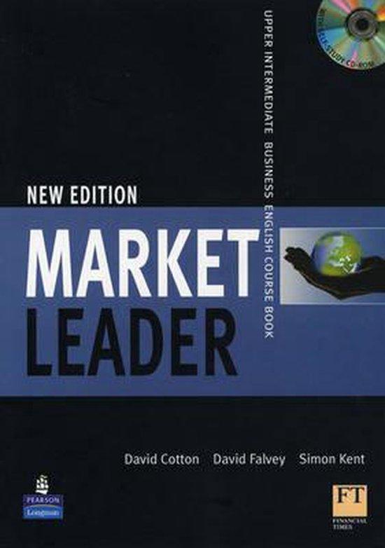 Boek cover Market Leader Upper Intermediate Coursebook/Multi-Rom Pack van David Cotton (Onbekend)