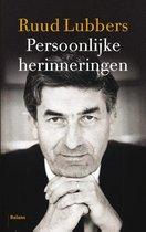 Boek cover Persoonlijke herinneringen van Ruud Lubbers (Paperback)