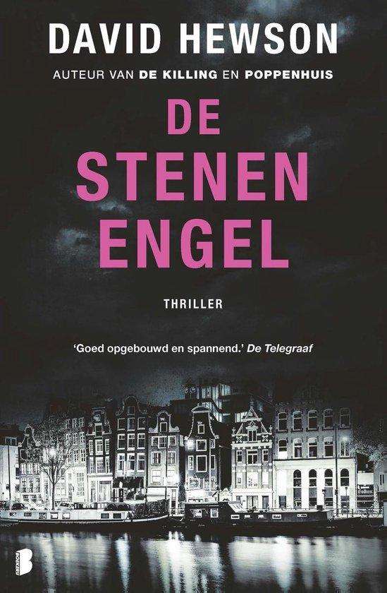 Amsterdam 4 - De stenen engel - David Hewson  