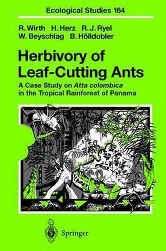 Boek cover Herbivory of Leaf-Cutting Ants van Rainer Wirth (Hardcover)