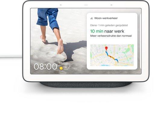 Afbeelding van Google Nest Hub - Smart Speaker met scherm / Nederlandstalig - Antraciet