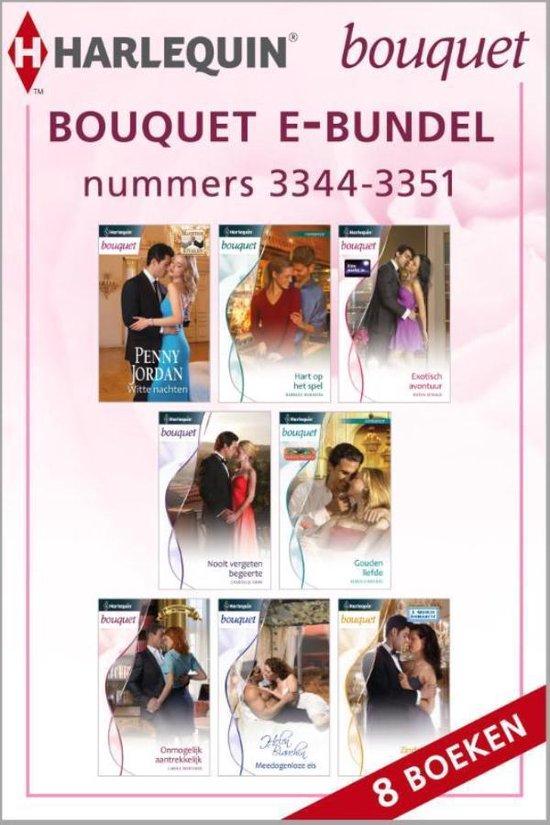 Bouquet e-bundel nummers 3344 - 3351, 8-in-1 - Penny Jordan |