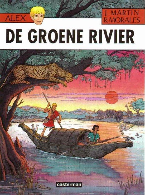 Cover van het boek 'De groene rivier'