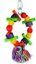 Happy Pet Speelgoed Papegaai - Cartwheel - 28 x 15 x 8 cm