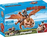 PLAYMOBIL Dragons Vissenpoot & Speknekje - 9460