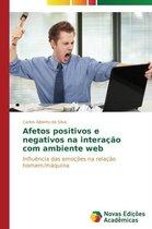 Afetos positivos e negativos na interacao com ambiente web