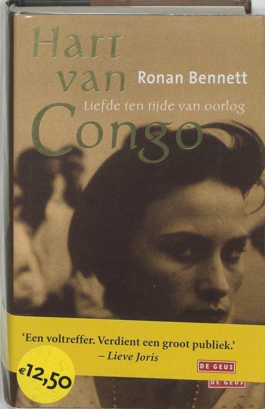 Cover van het boek 'Hart van Congo' van Rodney Bennett