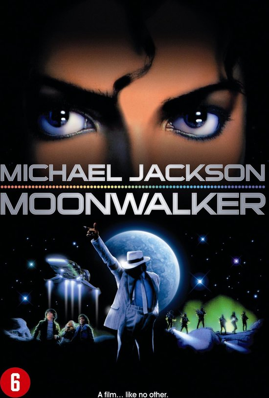 Cover van de film 'Moonwalker'