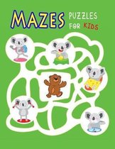 Maze Puzzles for Kids