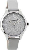OOZOO Junior horloge Grijs  (35 mm) - Grijs