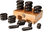 RESTPRO Hot Stone Massage Stenen - 22 Stenen