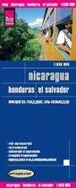 RKH Wegenkaart Nicaragua & Honduras & El Salvador