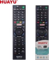Universele afstandsbediening voor de Sony TV RMT-TX100D - Zwart