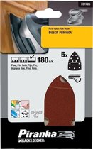 Piranha Schuurstroken Bosch PSM, 180K 5 stuks X31725