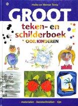 Groot Teken- En Schilderboek Voor Kinder