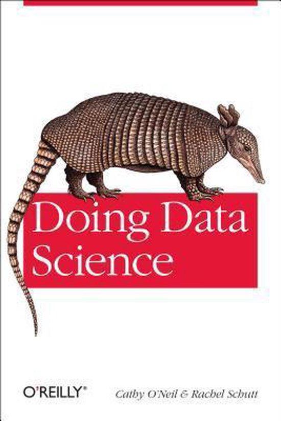 Boek cover Doing Data Science van Cathy ONeil (Paperback)