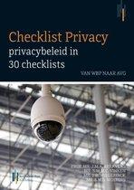 CHECKLIST PRIVACY: Privacybeleid in 30 checklists