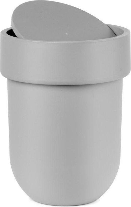 Umbra Touch Afvalbak met deksel - Grijs