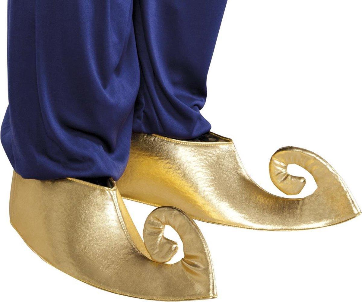 6 stuks: Overschoenen Sultan - Goud - Medium-Large