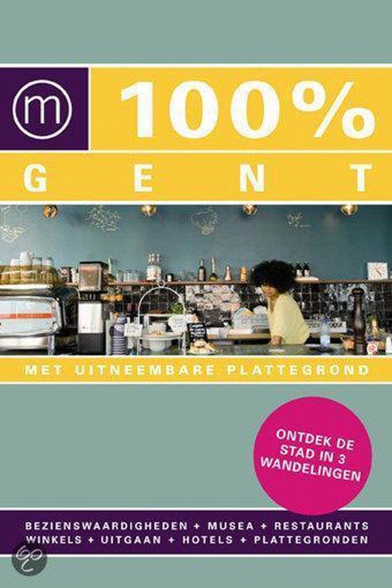 Cover van het boek '100% Gent + gratis 100% Antwerpen'