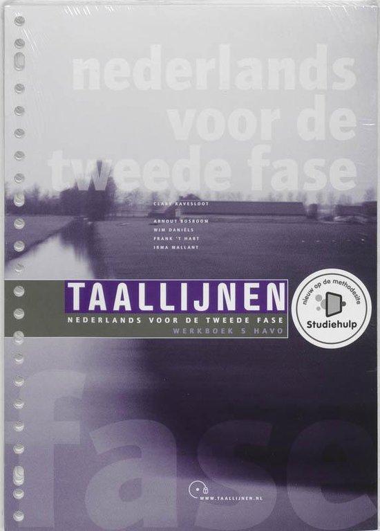 Taallijnen 5 Havo Werkboek - C. Ravesloot |
