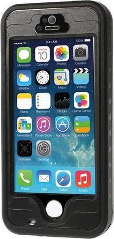 GadgetBay Waterdicht Hoesje iPhone 5 5s SE Waterproof hardcase - IP68 - Zwart